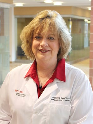 Darlene Gibbon, MD, chief of Gynecologic Oncology Rutgers Cancer Institute of New Jersey, associate professor of Obstetrics, Gynecology and Reproductive Services at Rutgers Robert Wood Johnson Medical School.