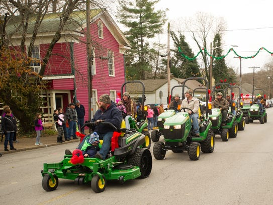 Christmas in New Harmony has a number of different activities and events including the parade Saturday morning.