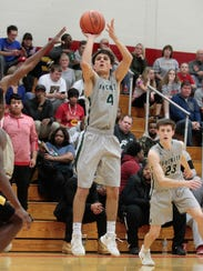Cole Burdick keeps the long game going for McNicholas.