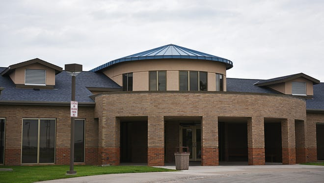 The South Dakota Human Services Center in Yankton is shown on June 3.