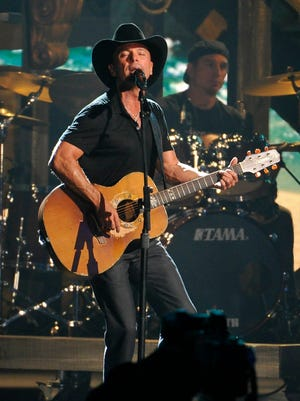 Kenny Chesney is one of the performers announced for the 51st Academy of Country Music Awards on April 3.