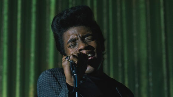 Chadwick Boseman portrays music great James Brown in