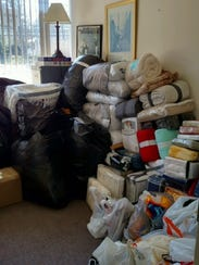 Donations for refugees that will be resettled by Catholic