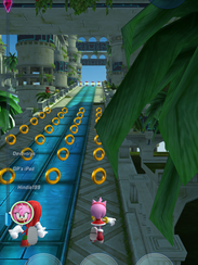 """A scene from """"Sonic Forces Speed Battle"""""""