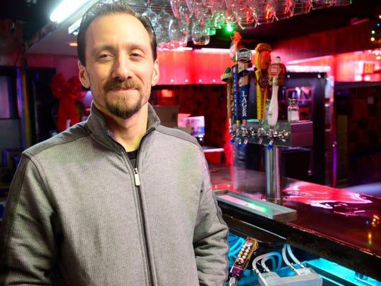 Zen Lounge owner Robert Rapatski in December 2015.