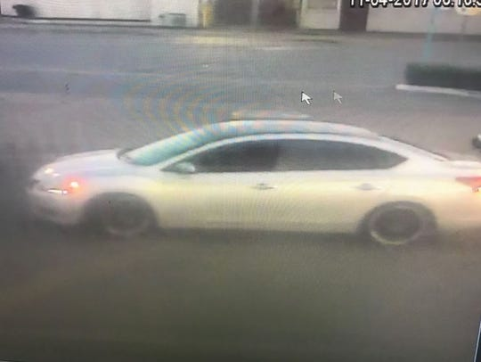 Surveillance footage captured images of a vehicle believed