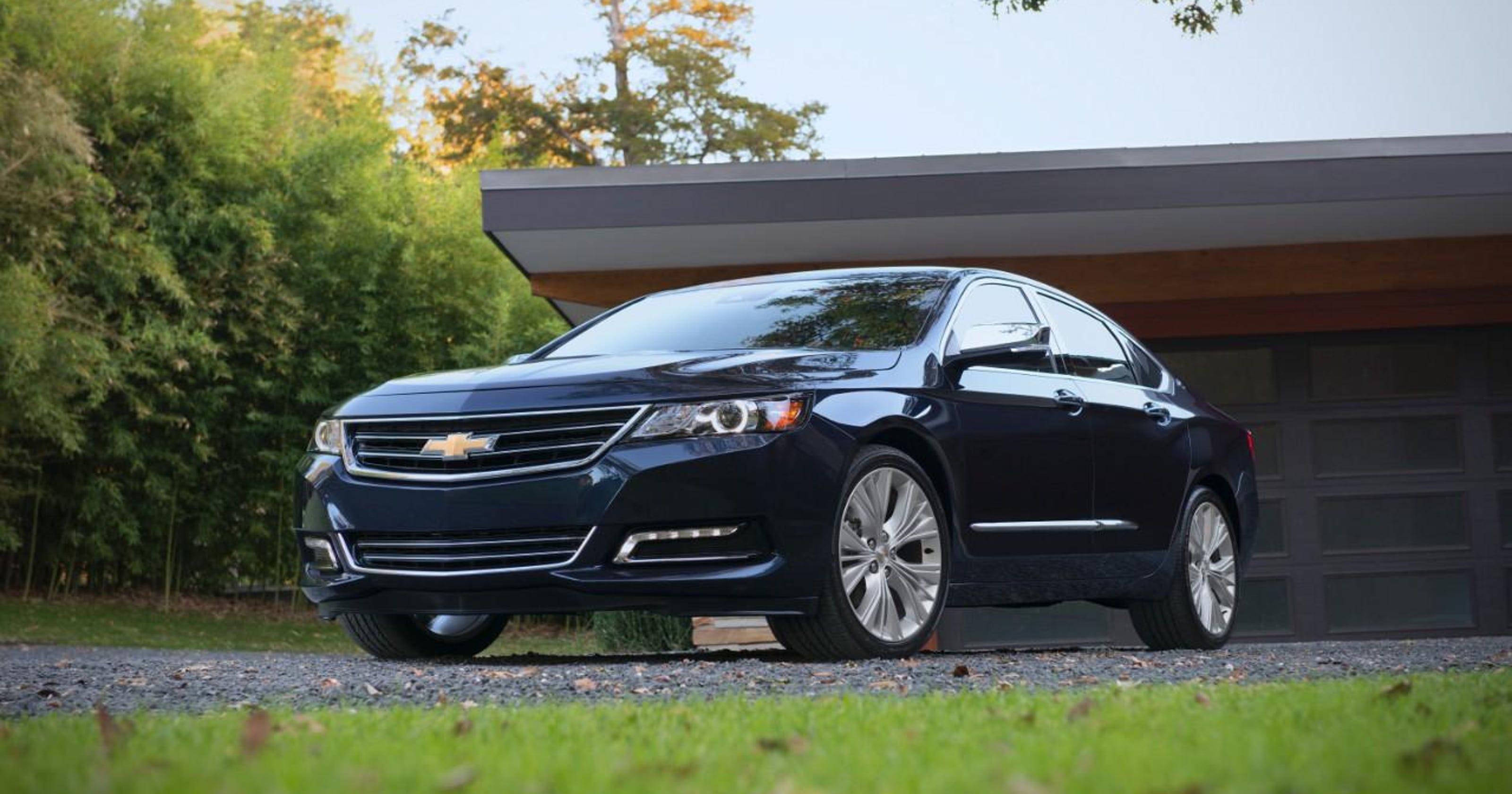GM recalling 2014-15 Impalas over air bag fears