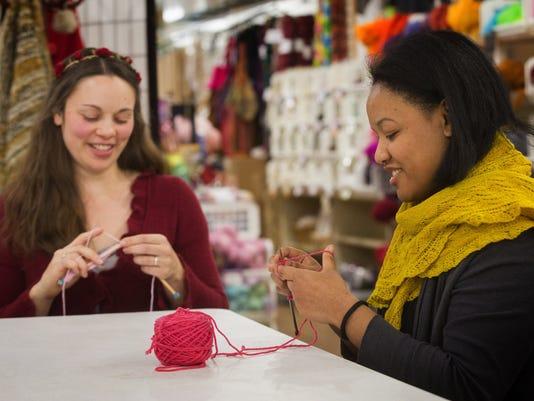 Knitting a movement: Why youíll see pussyhats everywhere in January