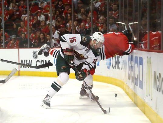7-9-14 Stanley Cup Playoffs-Minnesota Wild at Ch