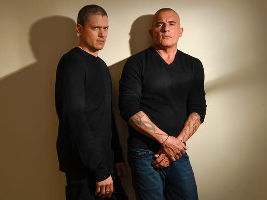 'Prison Break' stars Wentworth Miller and  Dominic