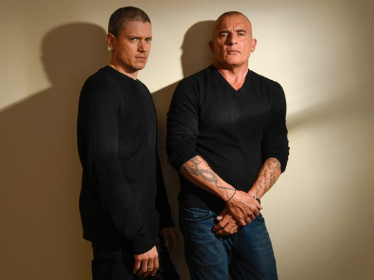'Prison Break' stars Wentworth Miller and  Dominic