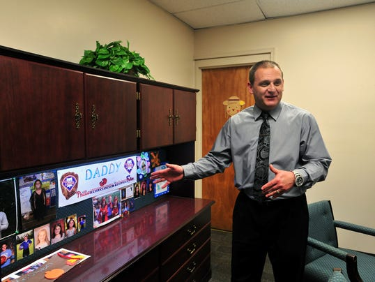 -Mario Olsen new principal of Vineland High School North 4.jpg_20120501.jpg