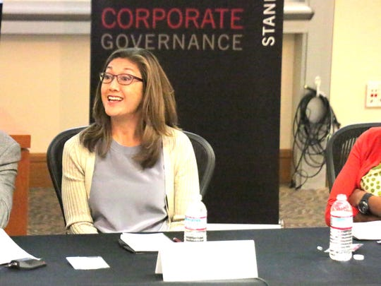 Google's Nancy Lee speaks at Stanford Law School