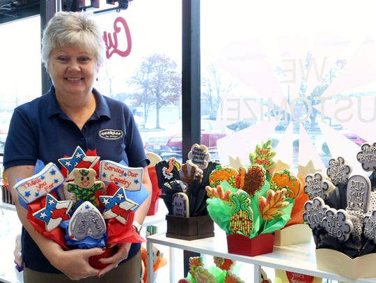 Dianne Brown, owner and operator of Cookies by Design