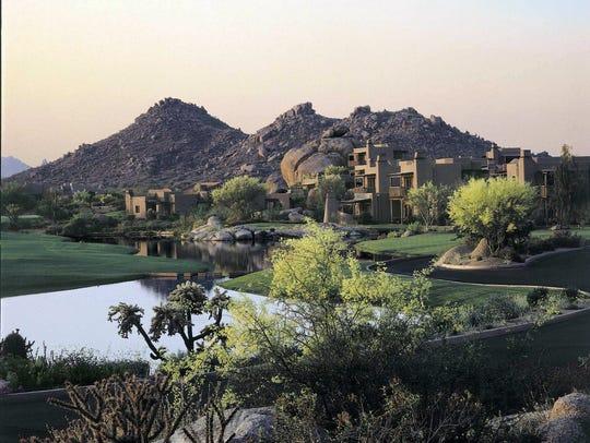 The Boulders Resort & Golden Door Spa is situated on