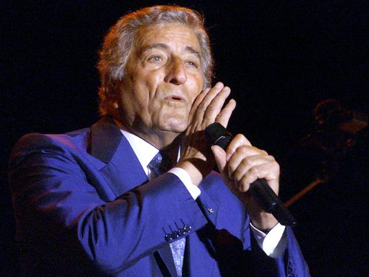 Kd Lang and Tony Bennett t