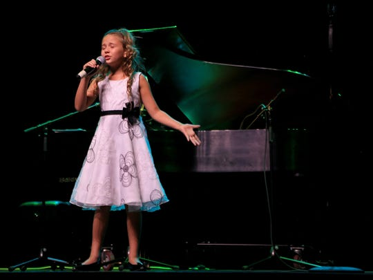 Lilly Mae Stover won the youth category Saturday night