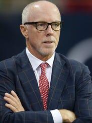 Atlanta Falcons president Rich McKay.