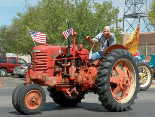 Averil Darlington Photo   Vintage farm tractors were a popular entry to last year's Fourth of July Parade in Deming.