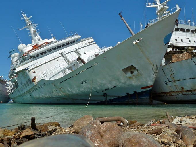 In August of 2013, one of the world's most cherished cruise ships barely limped into a Turkish scrapyard after developing a leak and taking on a severe list while under tow from Genoa, Italy.