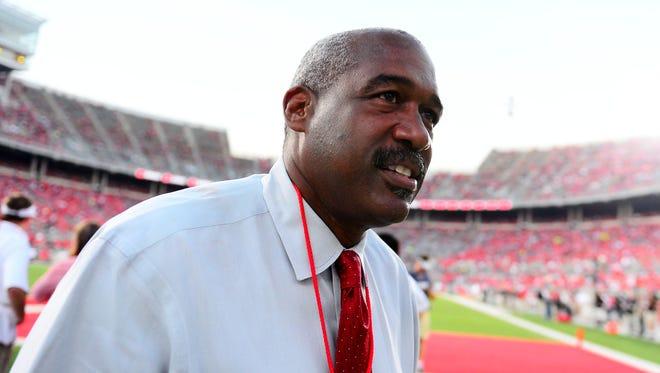 Ohio State athletics director Gene Smith.
