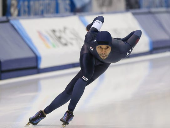 Shani Davis has trained at the Pettit National Ice
