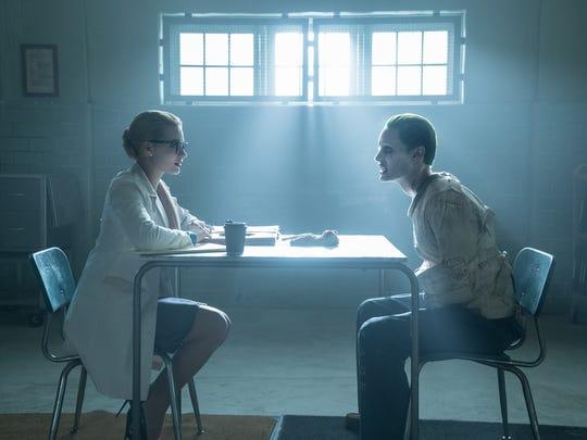 Jared Leto's Joker (right, with Margot Robbie) transcends
