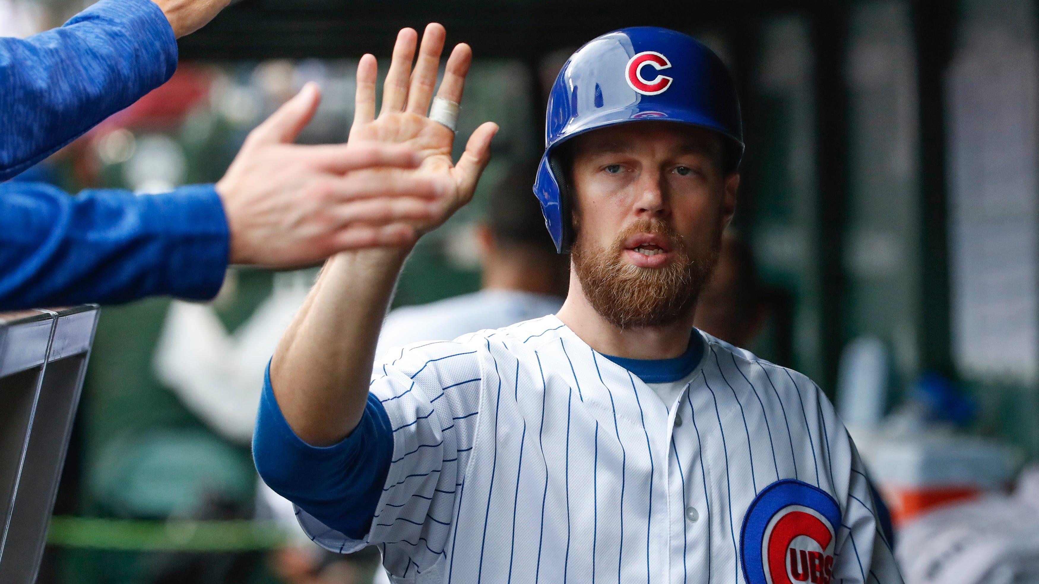 Ben Zobrist Chicago Cubs Baseball Player Jersey