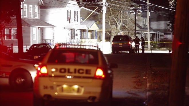 Neptune Township police blocked Monroe Avenue near Whitesville Road.