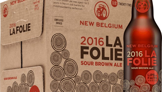 New Belgium Brewing is hosting an Asheville release event for the 2016 La Folie sour brown ale.