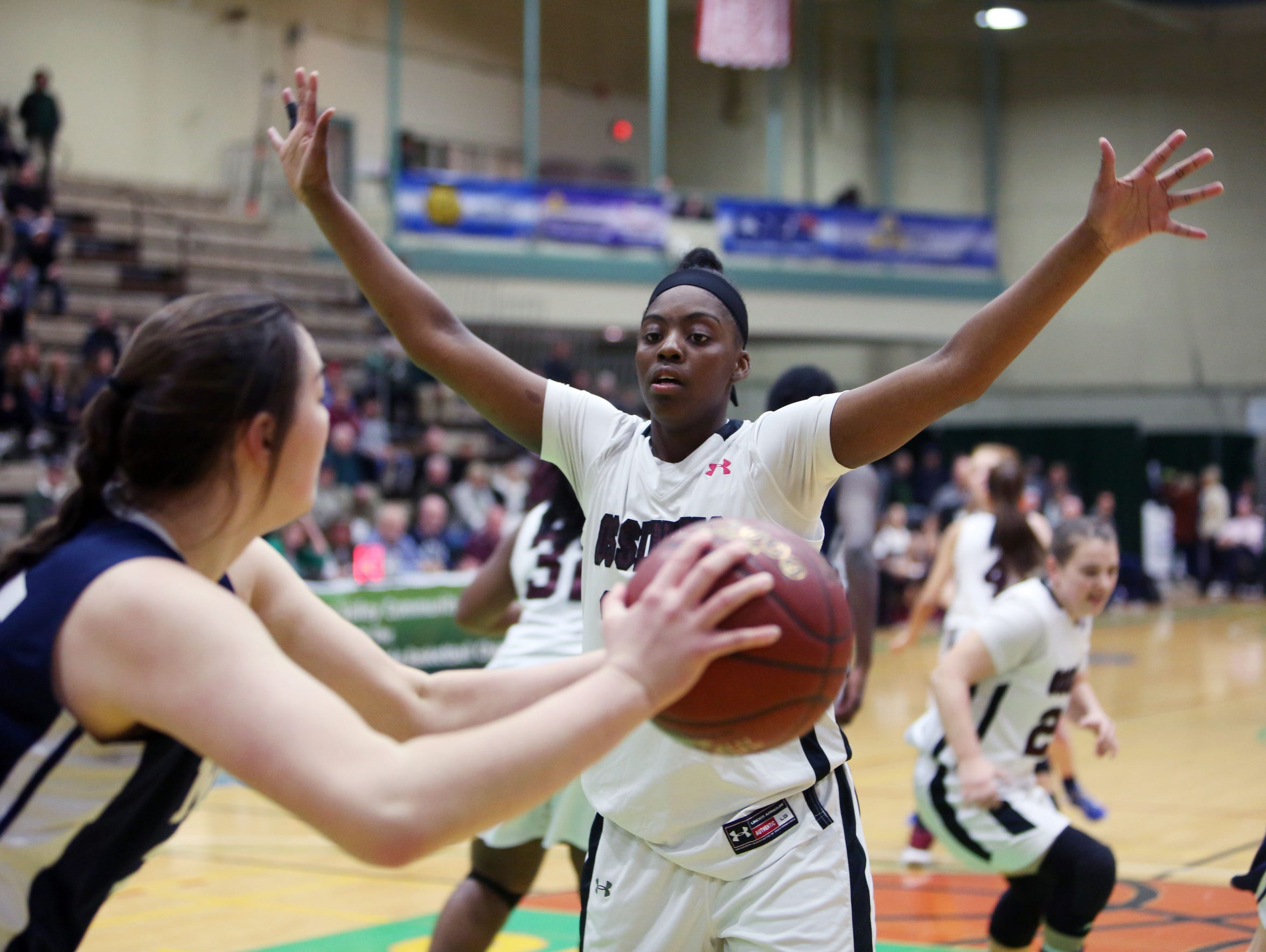 Ossining defeated Our Lady of Mercy 76-70 in the girls