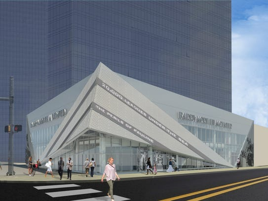 An artist's rendering of the proposed Barrymore Film