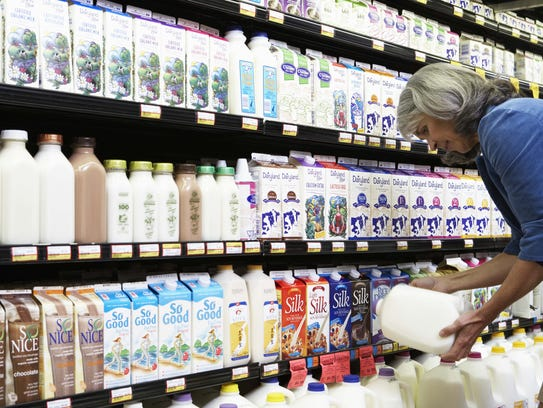 Milk is pasteurized, which removes potential contaminants,