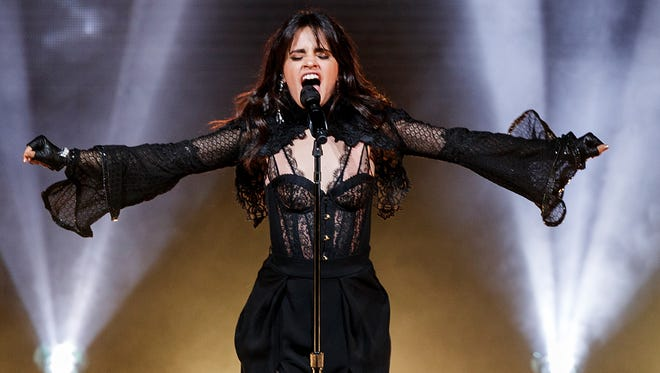 Camila Cabello performs during her Never Be the Same Tour opener at Orpheum on April 9, 2018 in Vancouver, Canada.