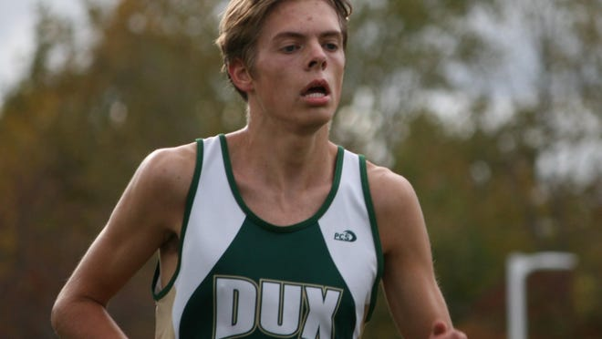 Ethan Senti racked up several accolades during his high school cross country and track and field careers.
