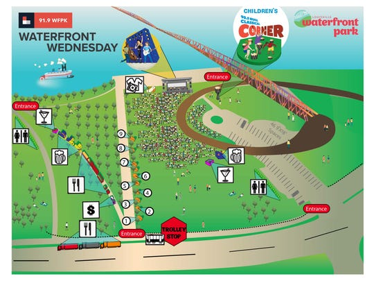 Waterfront Wednesday will be enclosed starting July 25