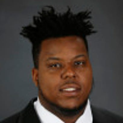 Former Alabama offensive lineman Charles Baldwin