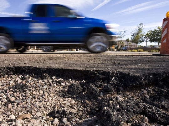 Several residents wished for better roads in Phoenix.