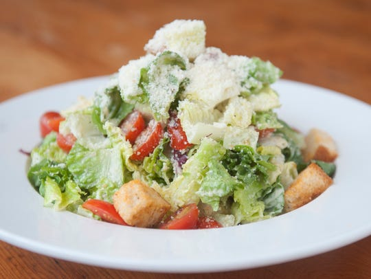Caesar salad is a popular lunch choice at Sabrina's