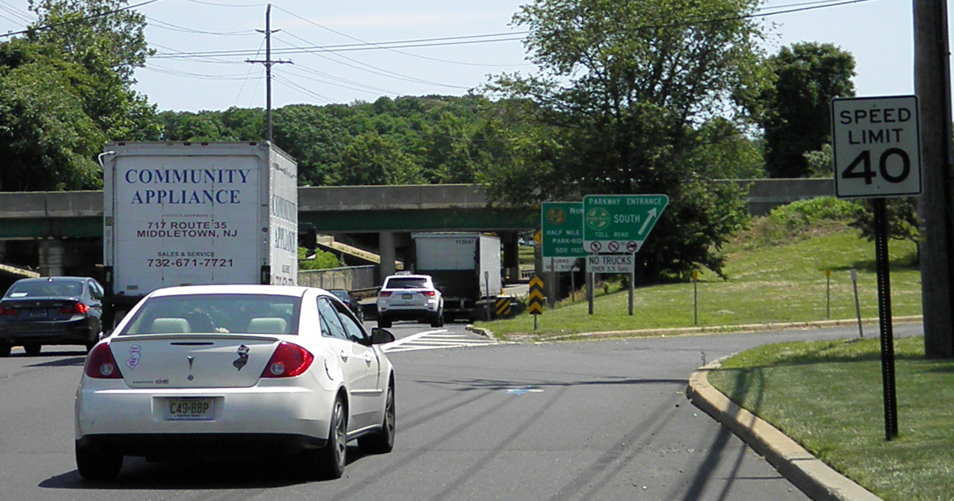Garden State Parkway Exit 109 Construction Timeline