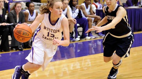 Franklin alum Lindsay Simpson now plays college  basketball for Western Carolina University.