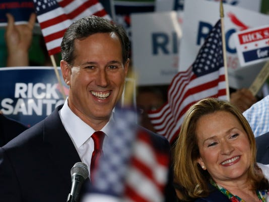 AP GOP 2016 SANTORUM A ELN USA PA