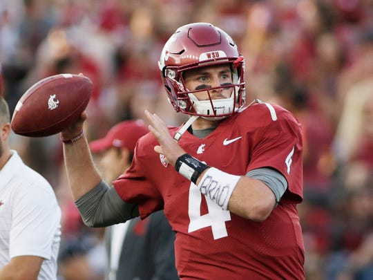 Luke Falk and the Cougars look for revenge on Saturday against Boise State, which edged WSU last year.
