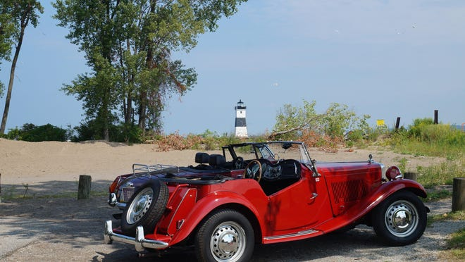 This 1952 MG-TD is owned by Scions of Britain Club member and secretary Mary Jane Blair.