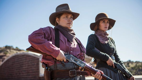 Merritt Wever as Mary Agnes and Michelle Dockery as