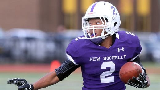 Romeo Holden and New Rochelle ran away from the Section 1 competition. The Huguenots finished the season ranked No. 1 in Josh Thomson's high school football rankings.