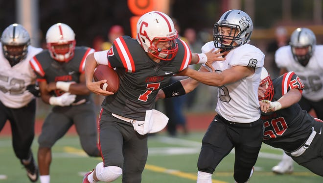 The supervisors of Van Buren and Canton townships have a friendly wager on the outcome of Friday's district football final between Belleville and Canton high schools.
