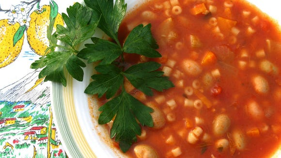 Minestrone is pure comfort food in a bowl.