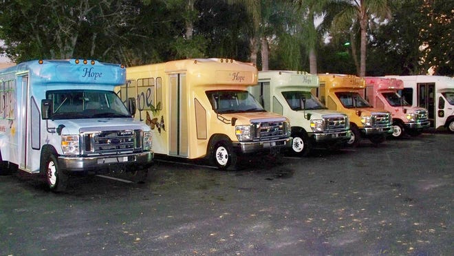 The purchase of a new Hope Mobile with a Florida Department of Transportation grant will expand the Hope PACE fleet to 14 vehicles.