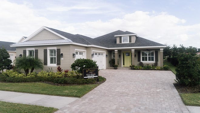 Adley Homes' popular Summerland model has more than $110,000 in upgrades.